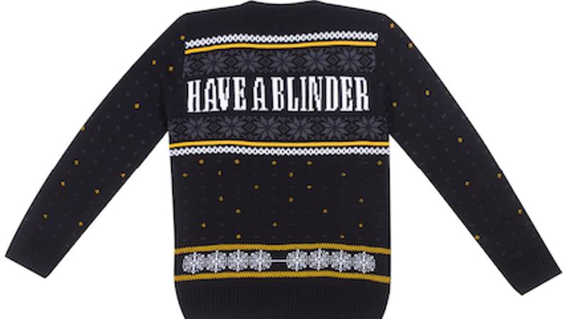 You Can Now Get Peaky Blinders Christmas Jumpers
