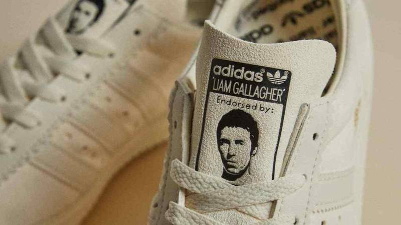 Liam Gallagher Adidas Spezial Trainers Go On eBay For £900