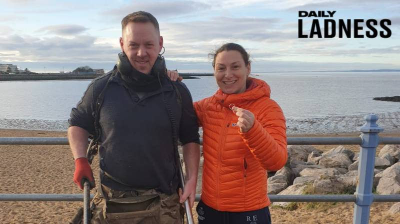 Metal Detectorist Finds Woman's Wedding Ring After She Lost It Swimming In The Sea