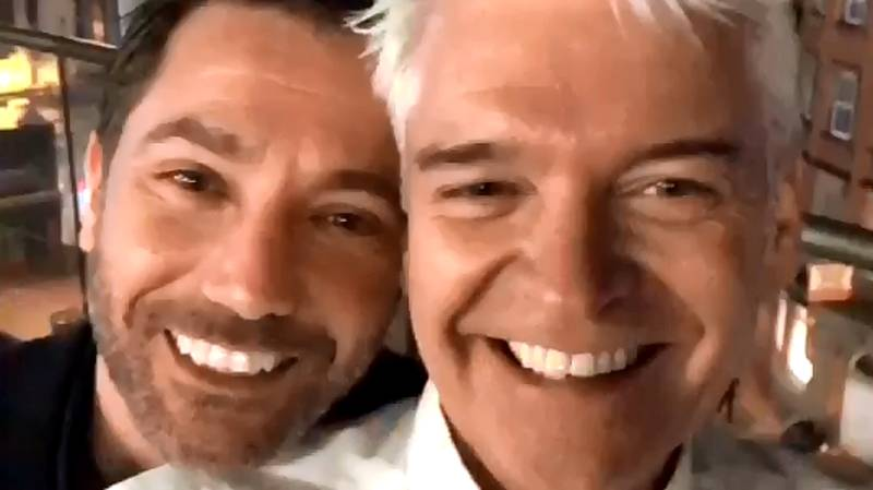 ​Phillip Schofield Snapchats His Big Night Out In Manchester