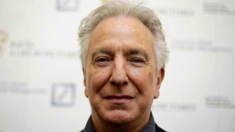 Alan Rickman Voted Greatest English Actor Of All Time