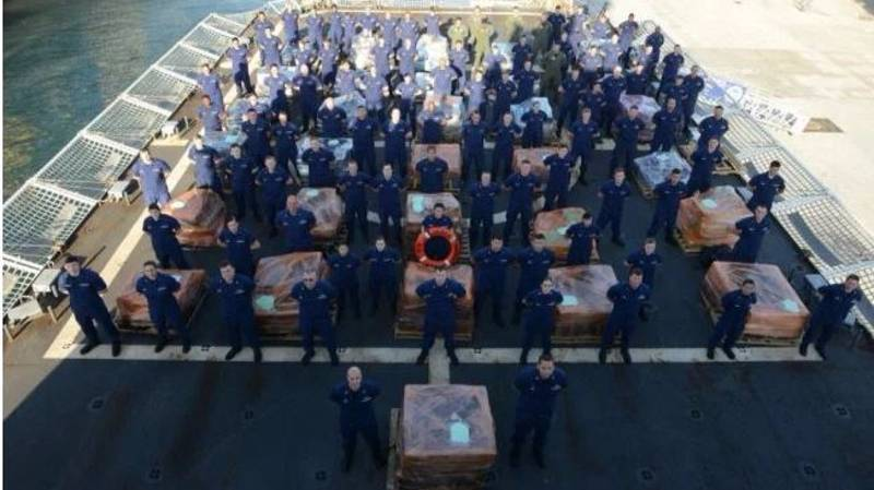 $1 Billion Of Cocaine Was Recently Intercepted By The The U.S. Coast Guard