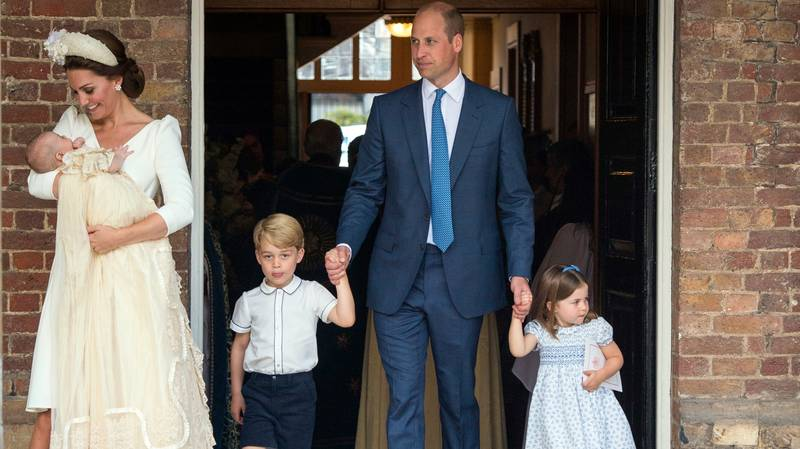 Kate And Will Have Touching Tribute To Queen In Prince Louis' Christening Photos