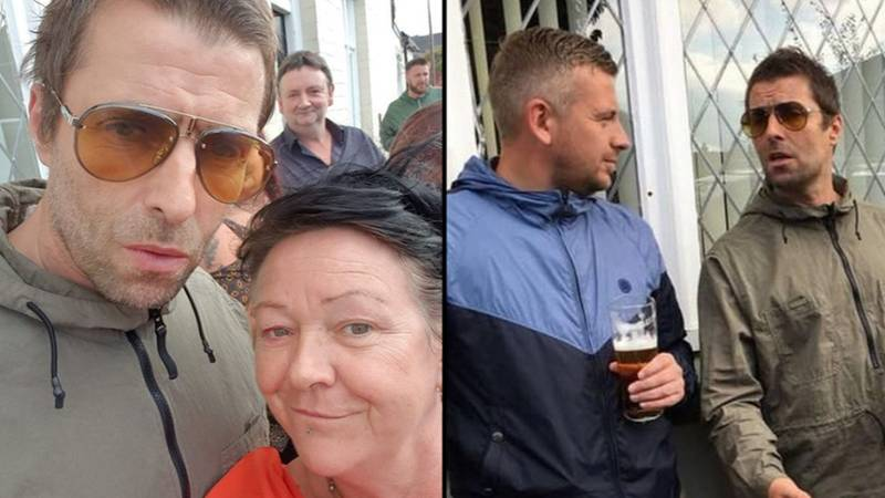 Drinkers Stunned As Liam Gallagher Joins Them In Pub For Sunday Lunch