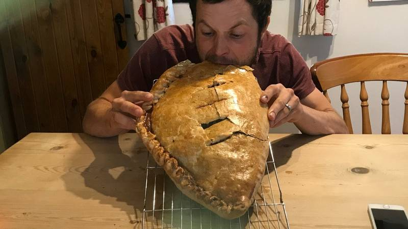 Dad Bakes Pasty To Exact Weight And Size Of His Newborn Son