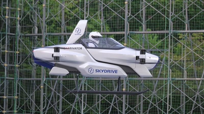 'Flying Car' Takes Off In Japan With One Person On Board