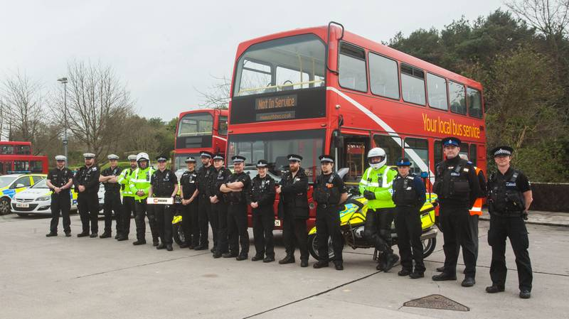 Police Are Using Double-Decker Buses To 'Spy' On Motorists