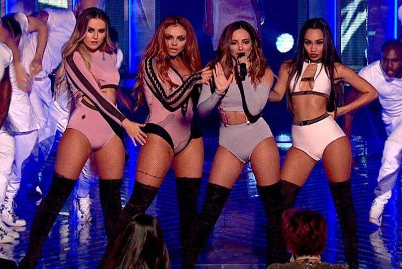 Some Viewers Angry As They Accuse Little Mix Of 'Performing In Their Underwear'
