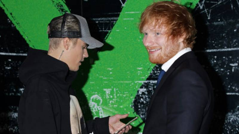 Ed Sheeran Smashed Justin Bieber In The Face With A Golf Club