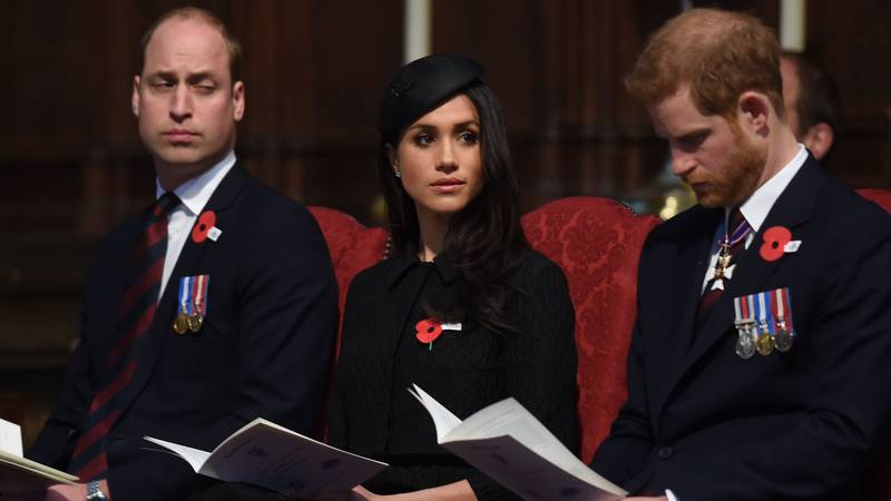 Knackered Prince William Nearly Nods Off During Service At Westminster Abbey