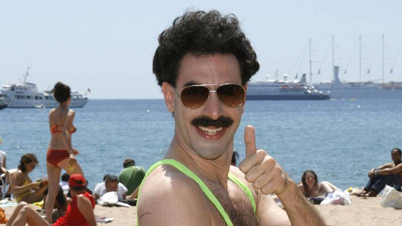 ​Tourists Arrested In Kazakhstan Capital For Wearing Borat 'Mankinis' In Public