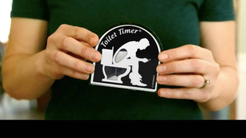 You Can Get A Timer For People Who Spend Too Long On The Toilet