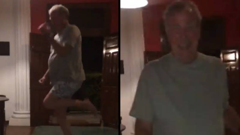 Jeremy Clarkson Attempts The 'Kiki Do You Love Me' Challenge