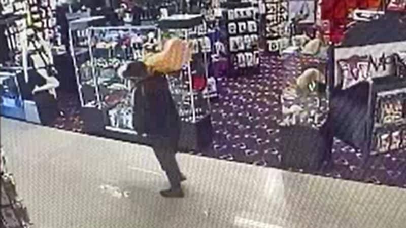 Man Steals 3ft-Tall Dildo From Las Vegas Sex Shop
