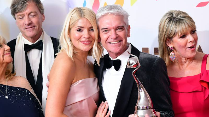 Piers Morgan Reveals Graphic Text He Sent Holly Willoughby After Her NTA Win