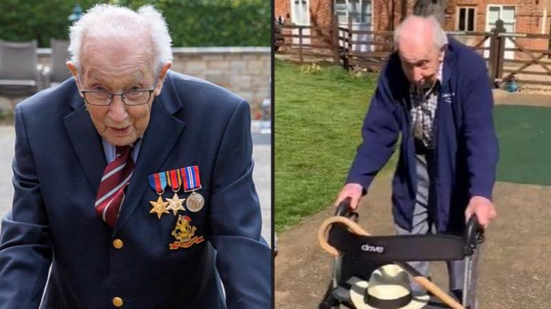 Captain Tom Moore Has Now Raised £6 Million For NHS By Walking Lengths Of His Garden