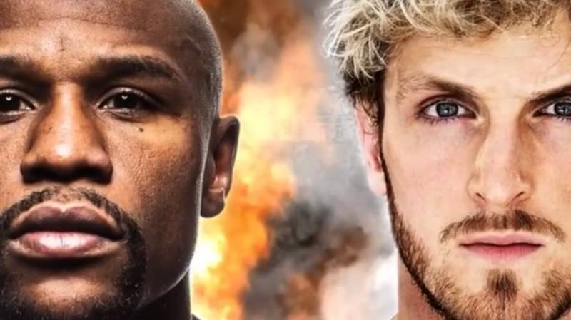 YouTuber Claims To Know Pay Split For Floyd Mayweather And Logan Paul's Fight