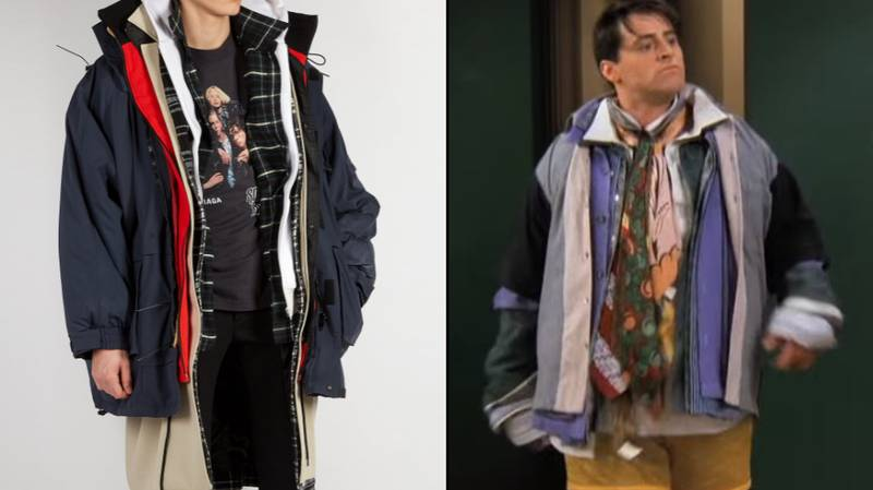 Was Joey From 'Friends' The Inspiration Behind This Balenciaga Coat?