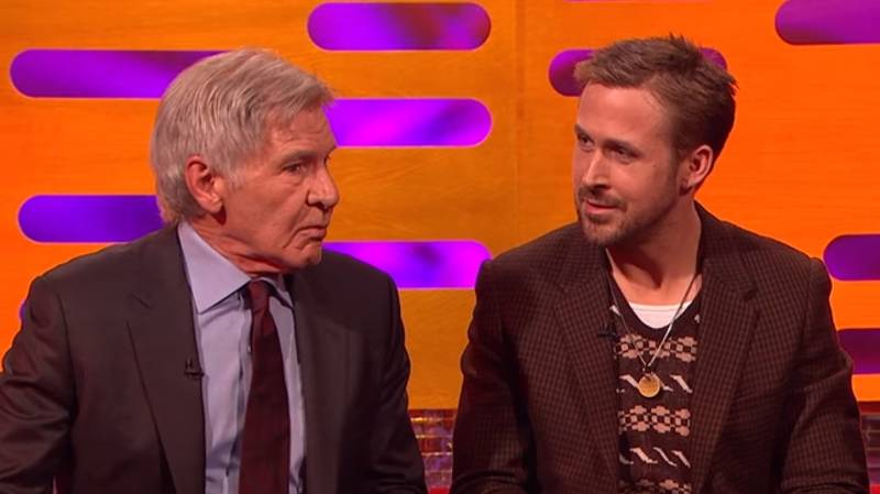 Harrison Ford Can't Remember Ryan Gosling's Name And It's Brilliant