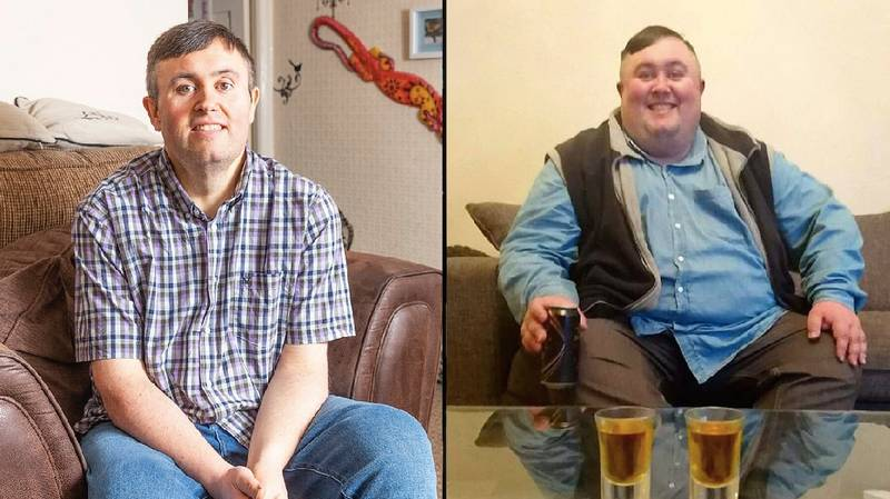 Super Slimmer Loses 17 Stone After Being Told He Was Close To Death