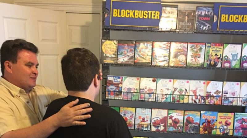 Autistic Teen Thrilled After Parents Recreate Blockbuster For Him