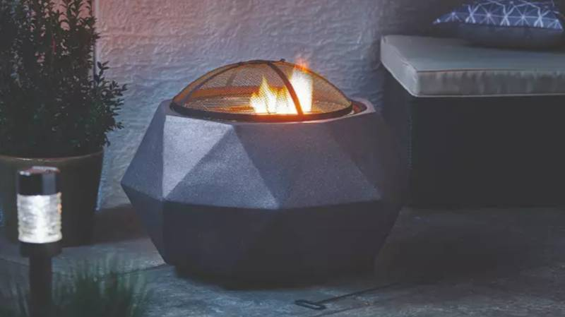 Aldi Fire Pits And Log Burners Are Available From Next Week