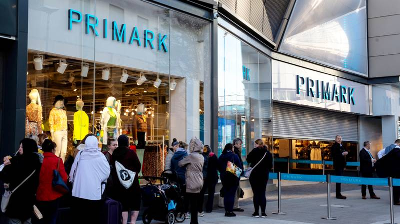Hundreds Queue To Be First Through Doors Of World's Biggest Primark