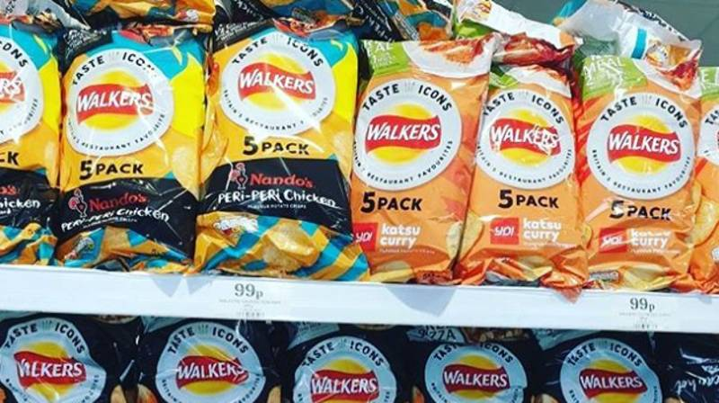 Walkers Releases New Crisp Range Inspired By Popular Chains Like Nando's And PizzaExpress