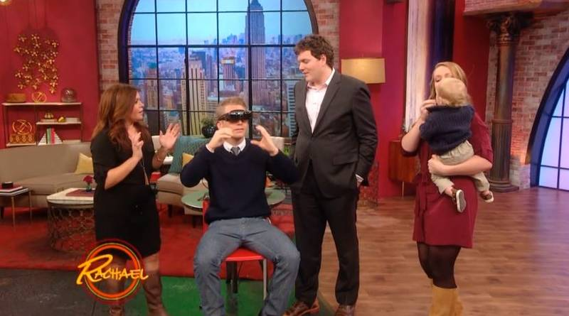 Visually Impaired Man Sees Wife's Face For The First Time