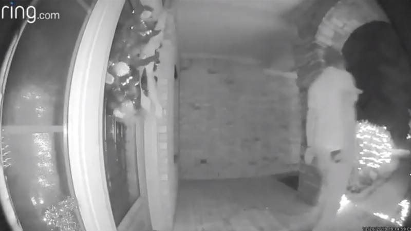 Doorbell Camera Glitch Gives Illusion Of Man Being 'Abducted' By Aliens