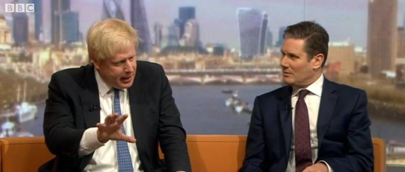 Boris Johnson's Tie On The Marr Show Was Longer Than 2016 So Far