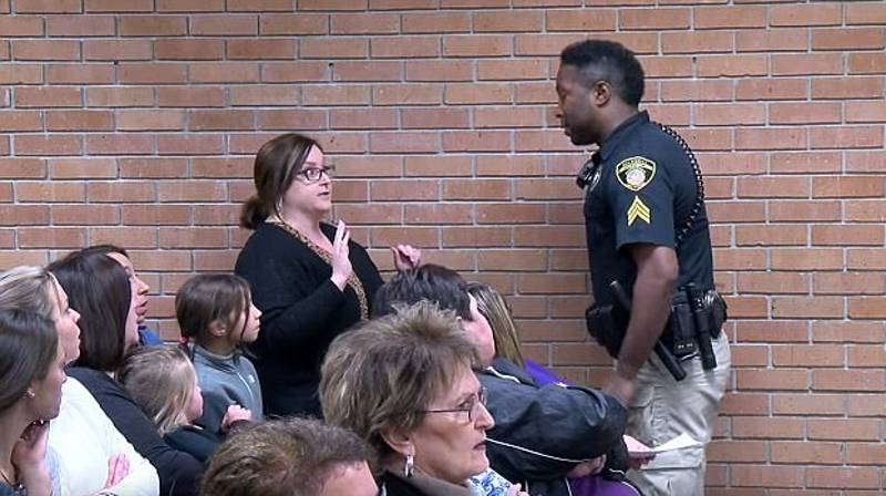 ​Teacher Handcuffed After Criticising Superintendent's Pay Rise At School Board Meeting