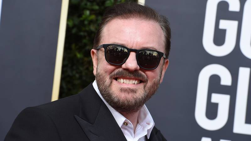 Ricky Gervais Didn't Hold Back During His Last Ever Golden Globes