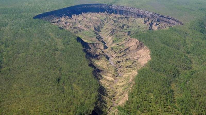 Huge Batagaika Crater In Siberia Is Getting Bigger, Scientists Say