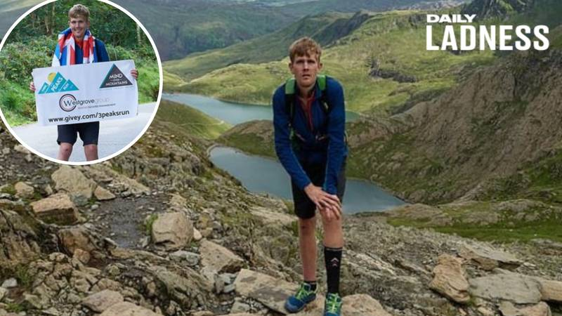 LAD Undertakes Challenges To Raise Money For Mental Health Charity He Created