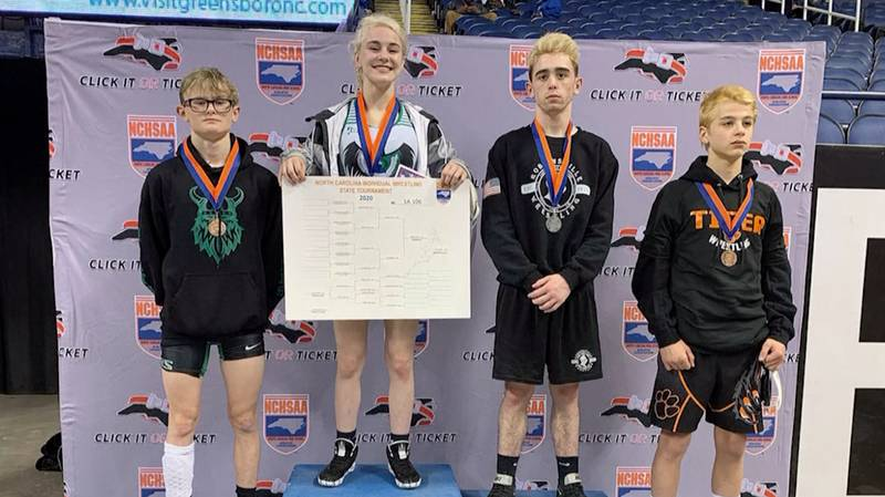 Female Wrestler, 16, Makes History After Beating Every Male In Her Division