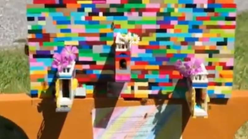 Beekeeper Spends Lockdown Building Beehive Out Of LEGO