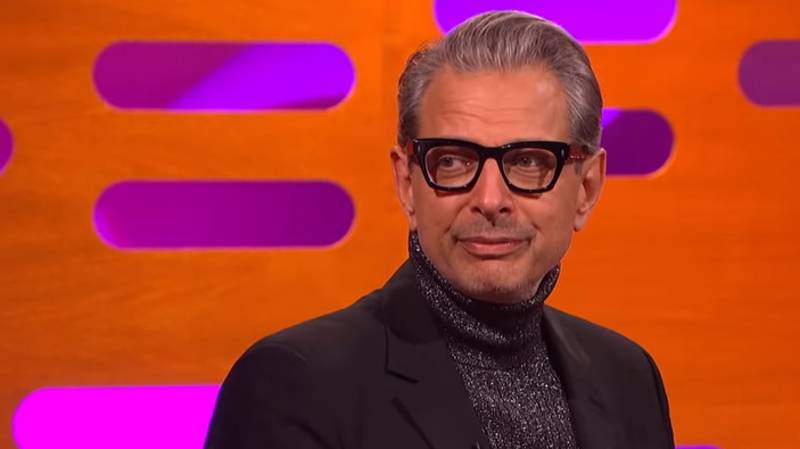 Jeff Goldblum Shows He Hasn't Changed A Bit In Graham Norton Interview