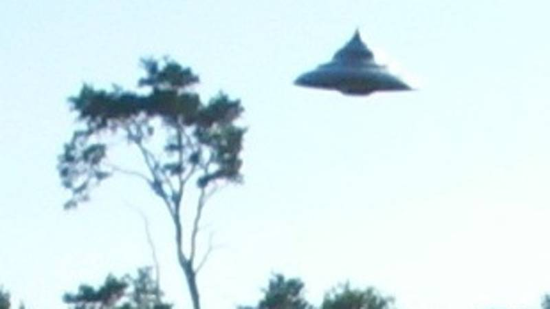 Photographs Showing UFO Hovering Over A Forest Dubbed 'Best We Have'
