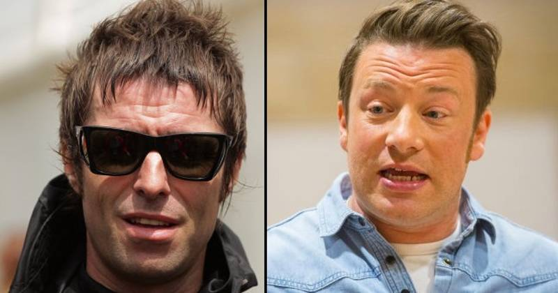 Liam Gallagher Got In Trouble For Getting Pissed And Throwing Stones At Jamie Oliver's Window