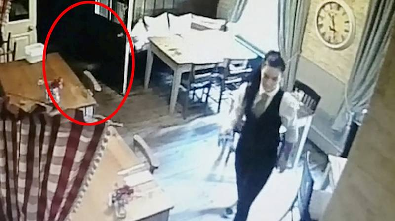 Pub Manager Spots 'Ghost' Of Small Girl In CCTV Footage