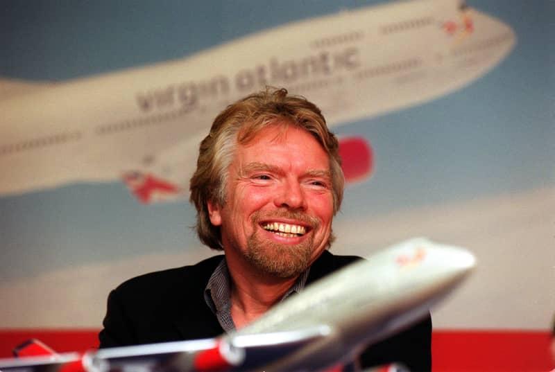 Rude Awakening For Virgin Staff Member After Richard Branson Surprises Him