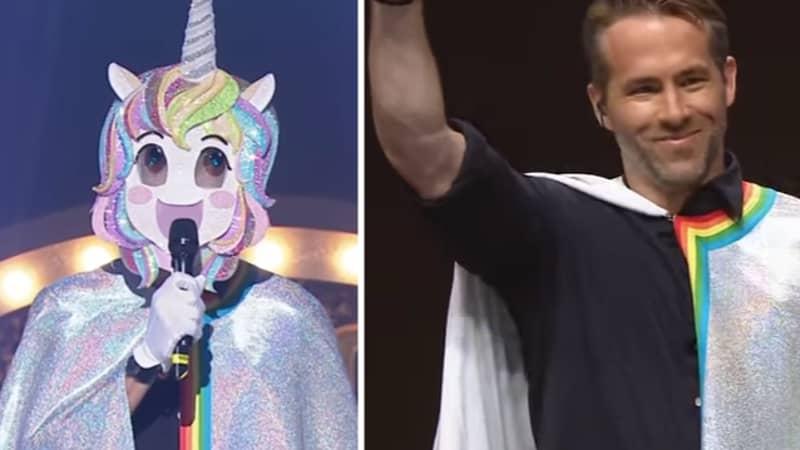 Ryan Reynolds Stuns South Korean Singing Contest In Rainbow Unicorn Suit