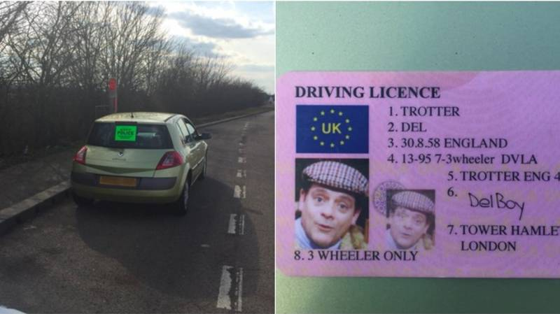 Driver With Fake 'Del Boy' ID Is Stopped By Police