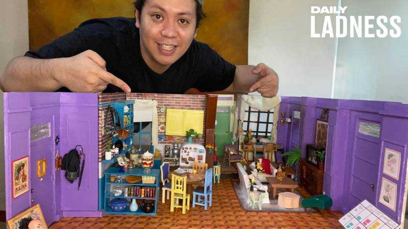 Man Spends Lockdown Building An Exact Replica Of Apartment From Friends