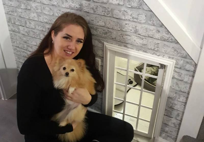 Devoted Pet Owner Builds Miniature Dog House For Just £60