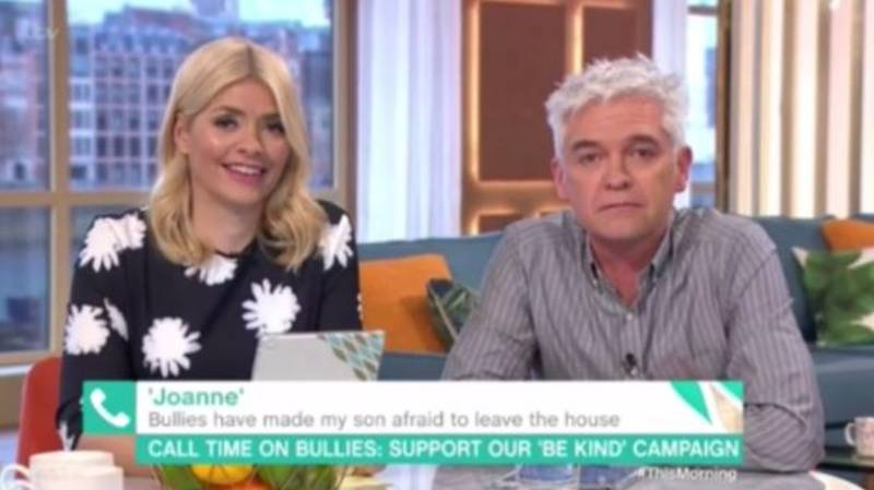 'This Morning' Viewers Left In Tears After Phillip's Wonderful Gesture To Bullying Victim