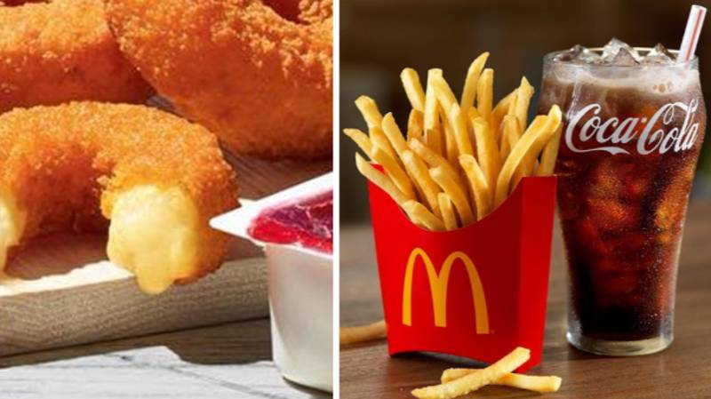 McDonald's Is Now Selling Cheesy Camembert-Filled Doughnuts