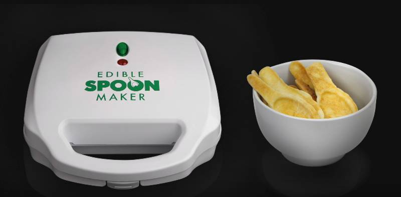 The 'Edible Spoon Maker' Will Probably Be Your Next Drunken Purchase