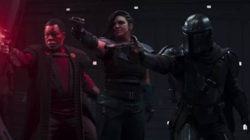 Crew Member Caught On Camera During Scene In The Mandalorian